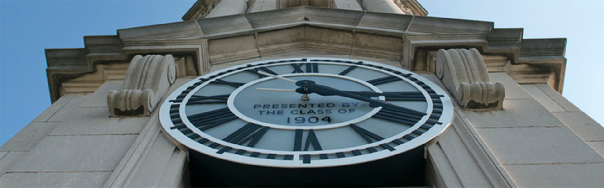Old Main clock