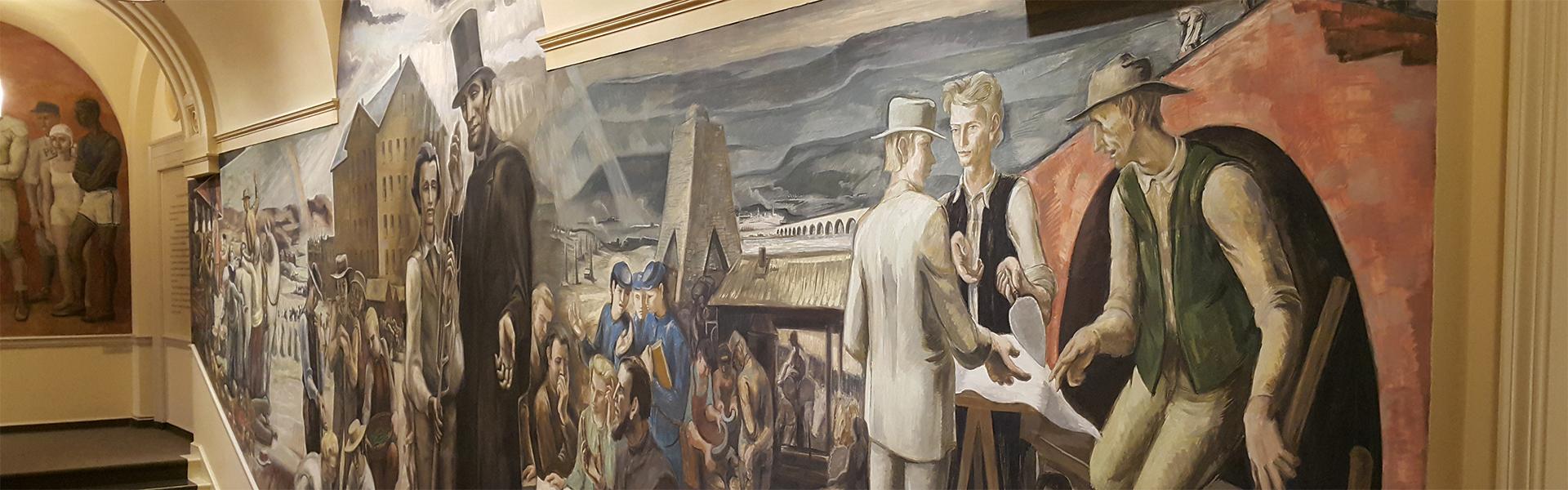 Old Main Fresco