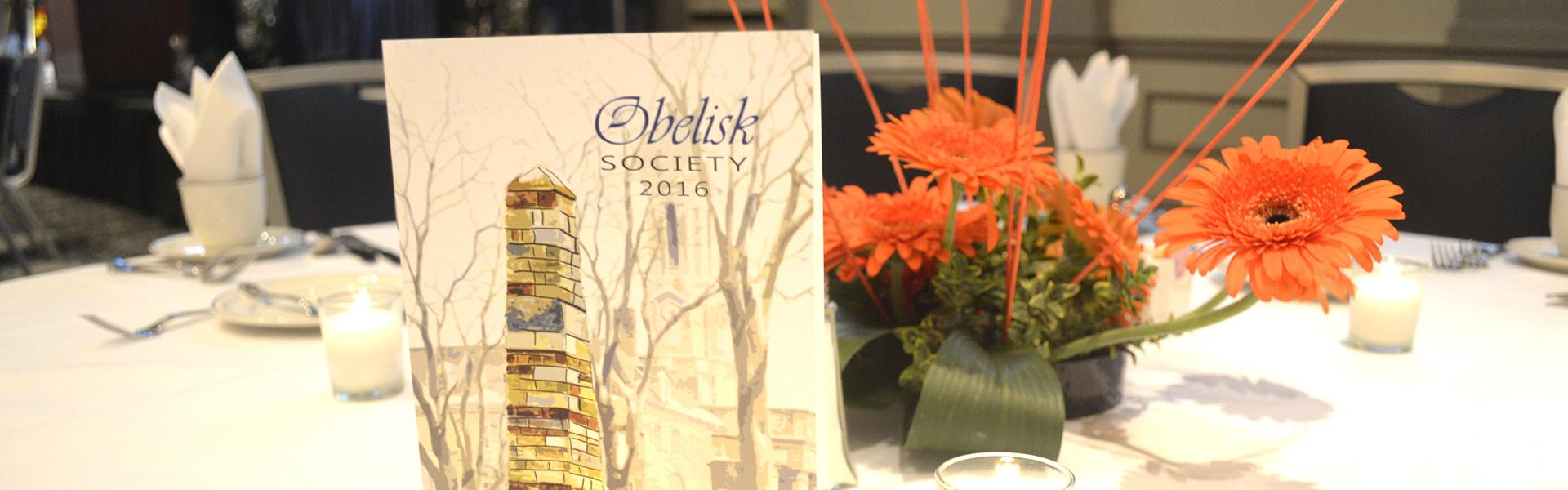 Obelisk Society Dinner