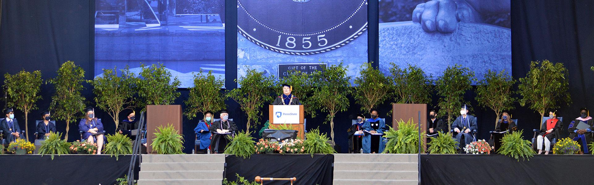 Graduation at Beaver Stadium 2021