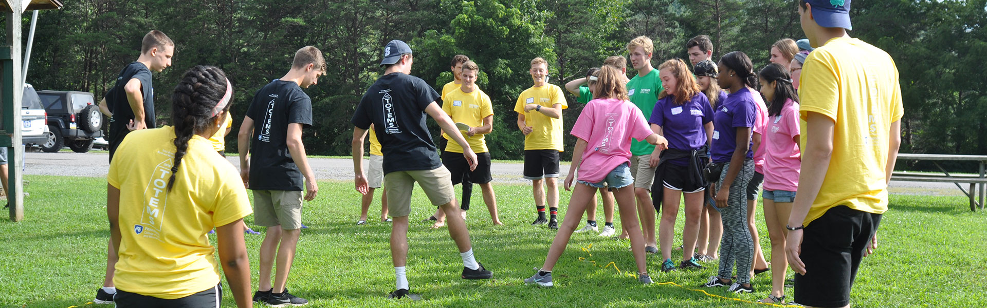 Orientation games at TOTEMS