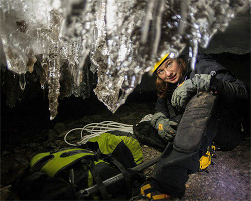 Ice cave research