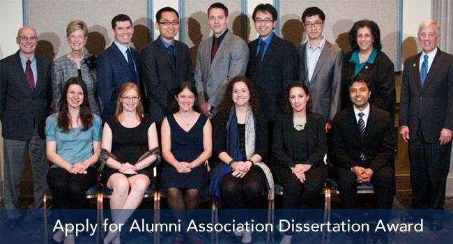 Graduate award winners