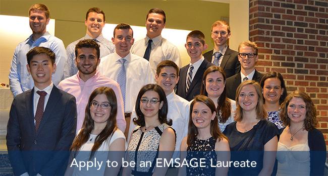 Class ofo 2016 EMSAGE Laureates