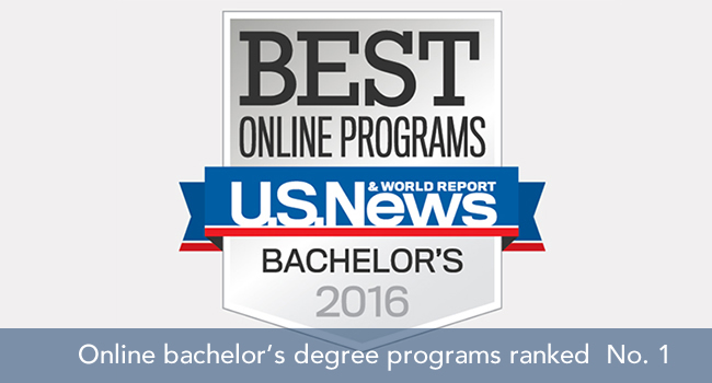 Top-ranked online programs