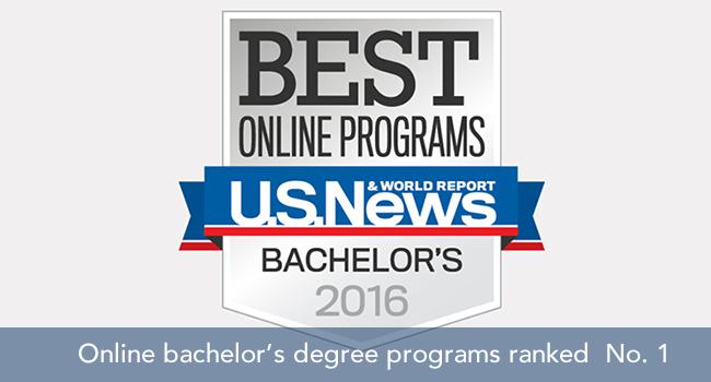 Top-ranked online programs