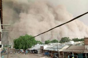Dust storms are a frequent threat to public health in parts of West Africa.