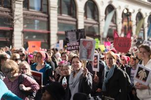 Despite stirring up some controversy, the 2017 Women's March was met with largely positive support on Twitter