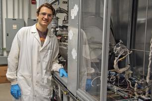 Riccardo Torsi received a 2019 National Science Foundation Graduate Research Fellowship