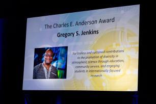 Meteorology professor Gregory Jenkins wins American Meteorological Society's Charles E. Anderson Award