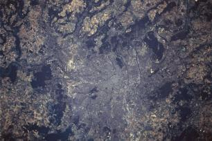 Paris, France from space