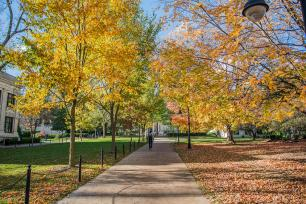 Penn State University Park campus in fall