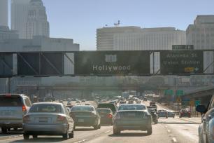 Traffic in Los Angeles