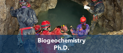 Biogeochemistry - Ph.D.