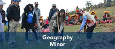 Geography minor