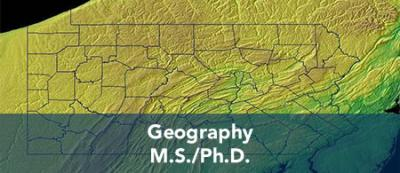 Geography - M.S. / Ph.D.