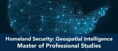 Homeland Security: Geospatial Intelligence- MPS