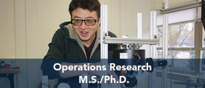 Operation Research - M.S./Ph.D.