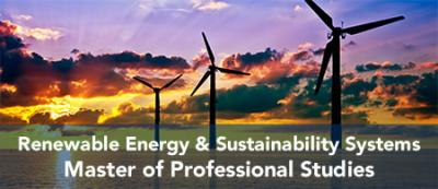 M.P.S. in Renewable Energy and Sustainability Systems