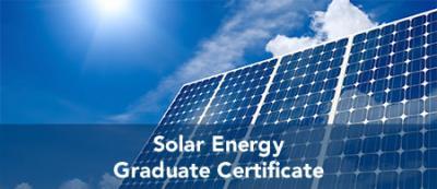 Solar Energy - Graduate Certificate