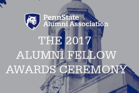 The Penn State Alumni Association will recognize 14 graduates on Oct. 4 with the lifelong title of Alumni Fellow, the highest aw