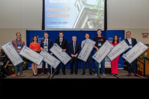 Eight Penn State student startups showcased their innovations at the Student Startup Showcase