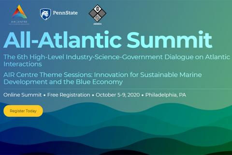 The All-Atlantic Summit will focus on innovation to develop inclusive ocean economies in the Atlantic region