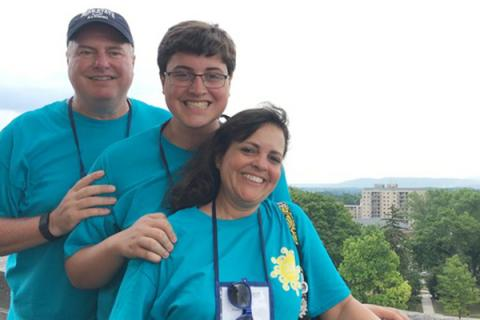 Stoffa family at Arts Festival weekend