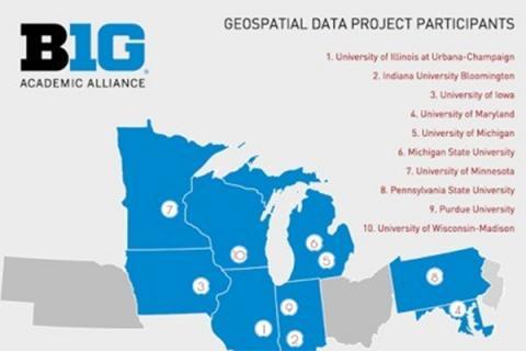 Big Ten Academic Alliance Geospatial Data Project