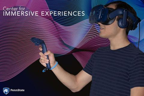 The Center for Immersive experiences is headquartered in Pattee Library