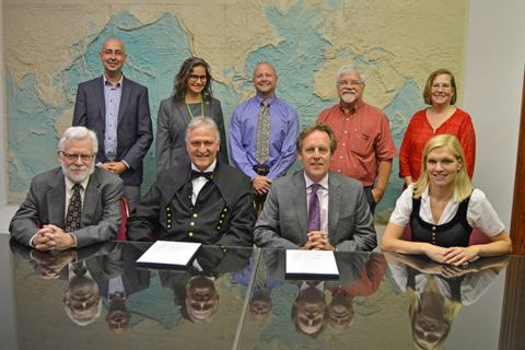 Representatives of Penn State's College of Earth and Mineral Sciences met with those of Montan University