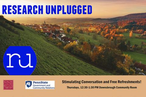 Fall Research Unplugged speaker series to offer weekly talks starting Oct. 4