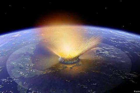 An asteroid is believed to have crashed into Earth 66 million years ago, leaving behind the Chicxulub impact crater