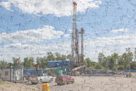 The study used text analysis to examine oil and gas regulations for all 50 states.