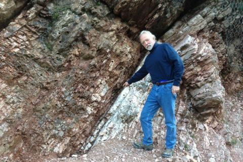Geosciences professor Michael Arthur got his start with geosciences research at this location in the 1970s.