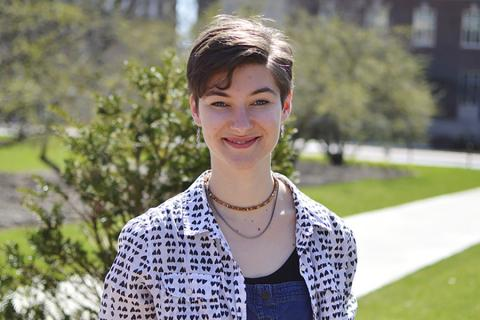 Katy Gerace is one of seven students in the college a 2019 Graduate Research Fellowship