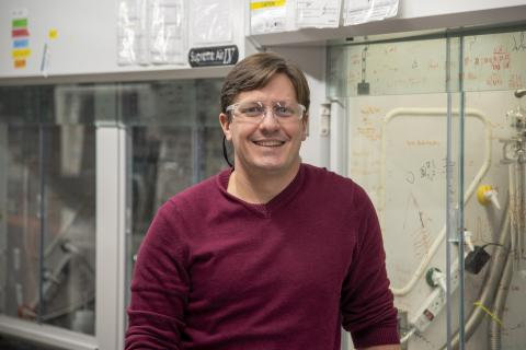 Robert Hickey, assistant professor of materials science and engineering