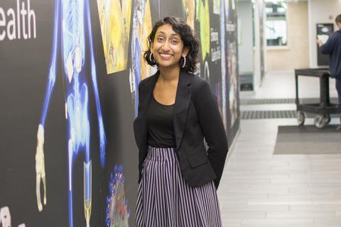 Preeya Kuray, materials science and engineering doctoral candidate