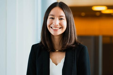 College of Earth and Mineral Sciences summer 2020 commencement student marshal,Milan Liu
