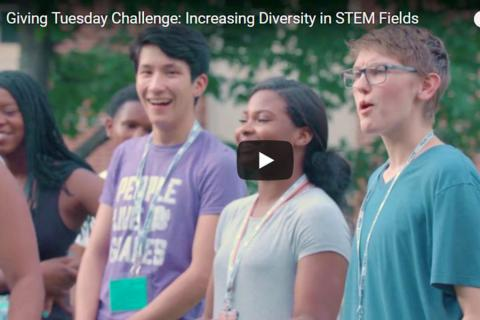 Penn State's Millennium Scholars program was designed to increase diversity in STEM fields.