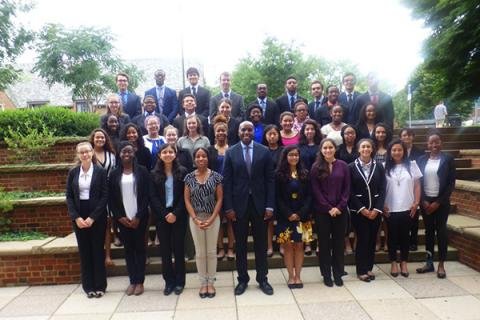 Penn State Millennium Scholars say they're ready to be a part of and facilitate changes in the diversity of STEM fields.