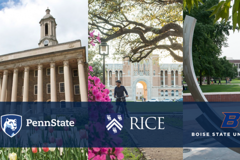 Boise State, Penn State and Rice University form the Center for Atomically Thin Multifunctional Coatings