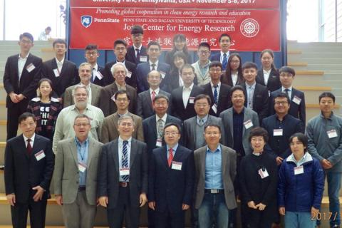 Members of the Penn State - Dalian Joint Center for Energy Research