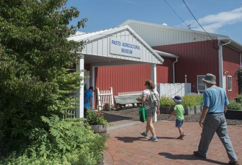 The Pasto Agricultural Museum is at the Russell E. Larson Agricultural Research Center at Rock Springs.