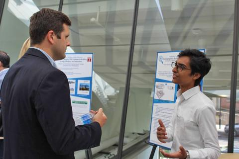 Students participate in the 2017 Energy Innovation Leadership Experience program.
