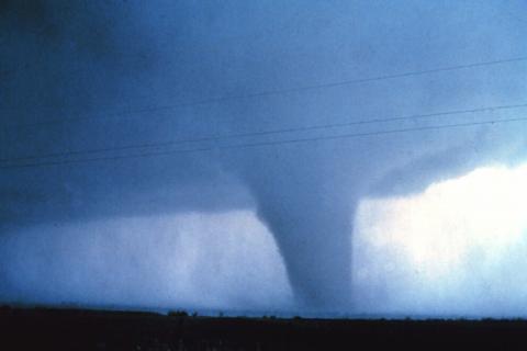 A mature tornado