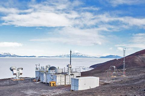 The Atmospheric Radiation Measurement Mobile Facility in McMurdo Station, Antarctica