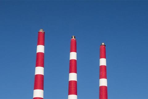 Emission towers