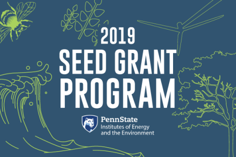 The 2019 IEE Seed Grant Program is accepting proposals through Dec. 4, 2019.