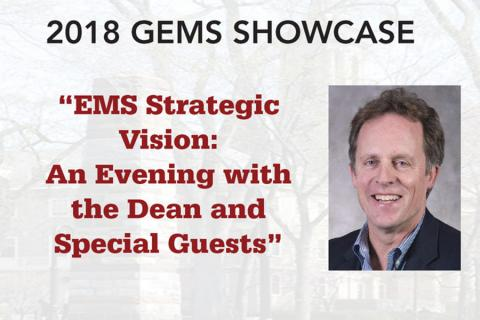 The 2018 Graduates of Earth and Mineral Sciences (GEMS) Showcase Speaker Series was held Sept. 13, 2018.